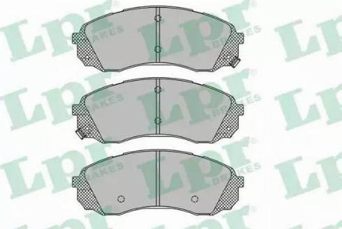 LPR 05P1451 - Set placute frana, frana disc reperautotrans.ro