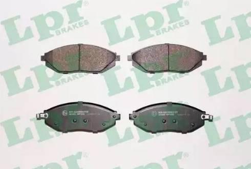 LPR 05P1629 - Set placute frana, frana disc reperautotrans.ro