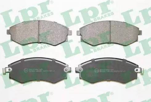 LPR 05P348 - Set placute frana, frana disc reperautotrans.ro
