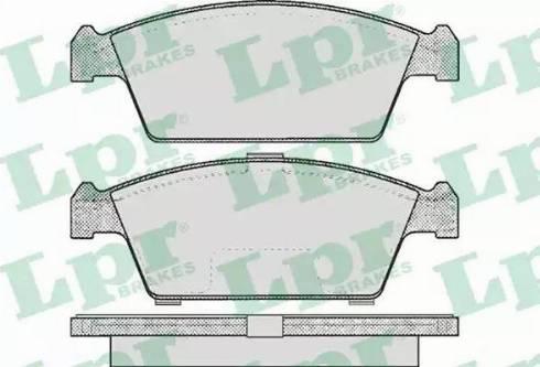 LPR 05P213 - Set placute frana, frana disc reperautotrans.ro