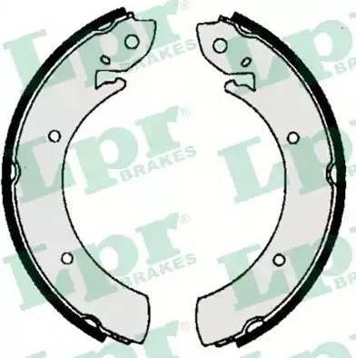 LPR 06070 - Setul de frânare, frâne cu tambur reperautotrans.ro