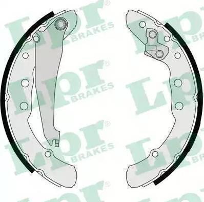 LPR 06850 - Setul de frânare, frâne cu tambur reperautotrans.ro