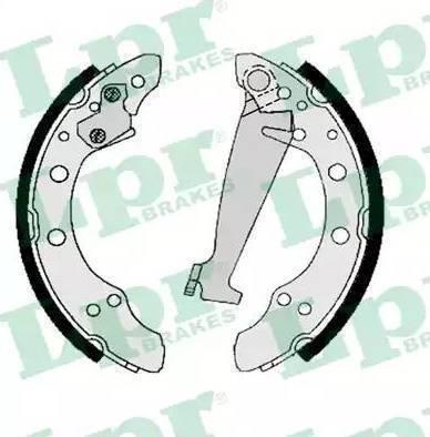 LPR 06830 - Setul de frânare, frâne cu tambur reperautotrans.ro