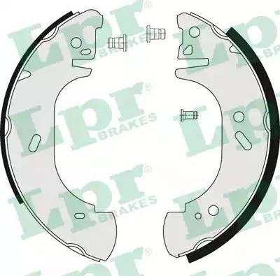 LPR 06750 - Setul de franare, frane cu tambur reperautotrans.ro