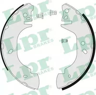 LPR 06760 - Setul de frânare, frâne cu tambur reperautotrans.ro