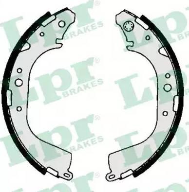 LPR 06710 - Setul de frânare, frâne cu tambur reperautotrans.ro