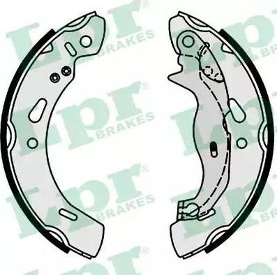 LPR 01004 - Setul de frânare, frâne cu tambur reperautotrans.ro