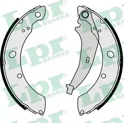 LPR 01016 - Setul de frânare, frâne cu tambur reperautotrans.ro
