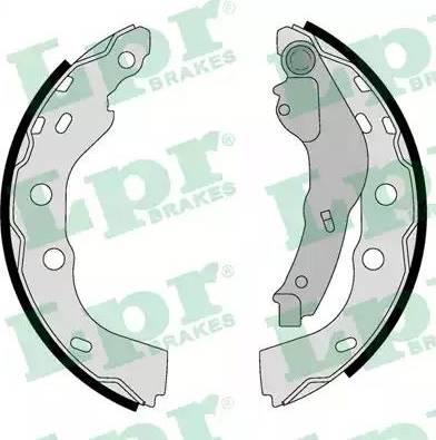 LPR 01071 - Setul de frânare, frâne cu tambur reperautotrans.ro