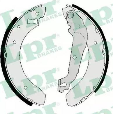 LPR 01380B - Setul de frânare, frâne cu tambur reperautotrans.ro