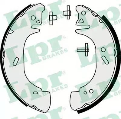 LPR 08440 - Setul de franare, frane cu tambur reperautotrans.ro