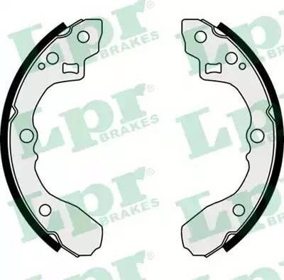 LPR 08060 - Setul de frânare, frâne cu tambur reperautotrans.ro