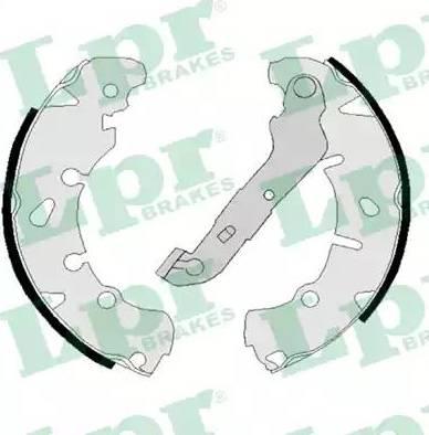LPR 08170 - Setul de frânare, frâne cu tambur reperautotrans.ro