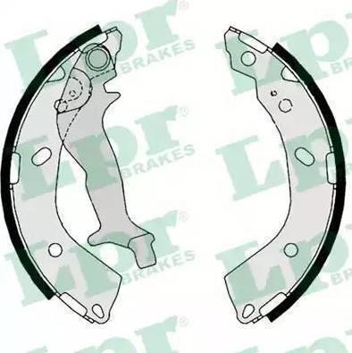 LPR 08760 - Setul de frânare, frâne cu tambur reperautotrans.ro