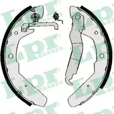 LPR 03970 - Setul de franare, frane cu tambur reperautotrans.ro