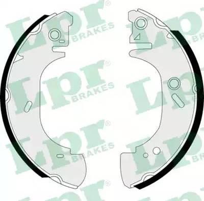 LPR 07400 - Setul de franare, frane cu tambur reperautotrans.ro