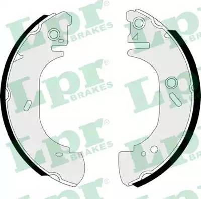 LPR 07410 - Setul de frânare, frâne cu tambur reperautotrans.ro