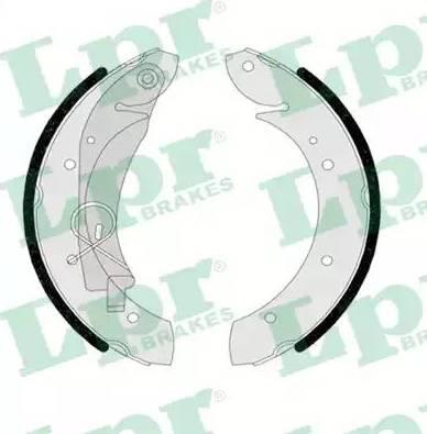 LPR 07420 - Setul de franare, frane cu tambur reperautotrans.ro