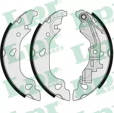 LPR 07690 - Setul de franare, frane cu tambur reperautotrans.ro