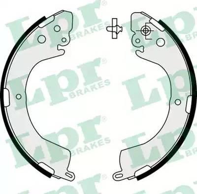 LPR 07620 - Setul de franare, frane cu tambur reperautotrans.ro