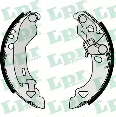 LPR 07080 - Setul de frânare, frâne cu tambur reperautotrans.ro