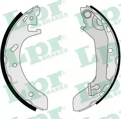 LPR 07140 - Setul de frânare, frâne cu tambur reperautotrans.ro