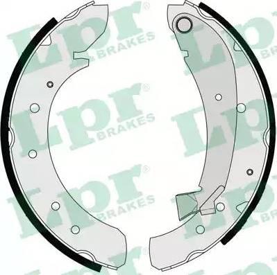 LPR 07120 - Setul de frânare, frâne cu tambur reperautotrans.ro