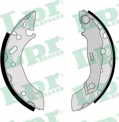 LPR 07175 - Setul de franare, frane cu tambur reperautotrans.ro