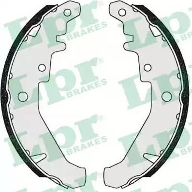 LPR 07310 - Setul de frânare, frâne cu tambur reperautotrans.ro
