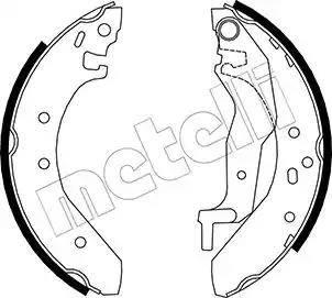 Metelli 53-0006 - Setul de franare, frane cu tambur reperautotrans.ro