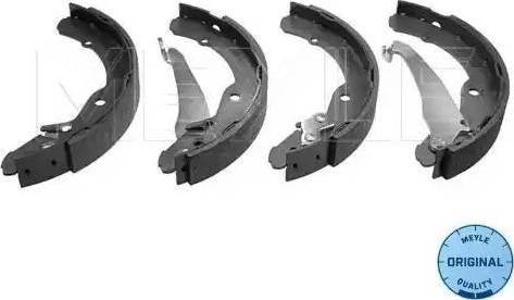 Meyle 114 042 0701 - Setul de frânare, frâne cu tambur reperautotrans.ro