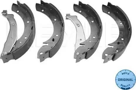 Meyle 11-14 533 0001 - Setul de franare, frane cu tambur reperautotrans.ro