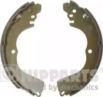 Nipparts J3505037 - Setul de frânare, frâne cu tambur reperautotrans.ro
