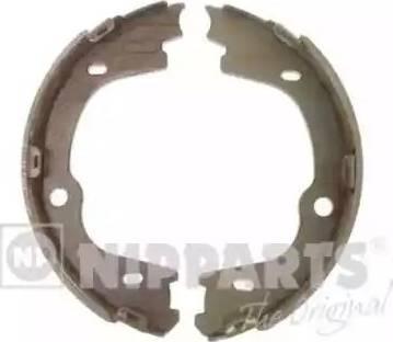 Nipparts N3500536 - Set saboti frana, frana de mana reperautotrans.ro