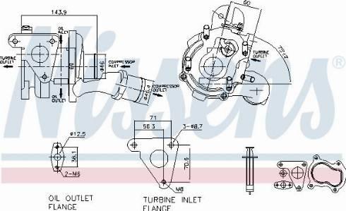 Nissens 93093 - Compresor, sistem de supraalimentare reperautotrans.ro