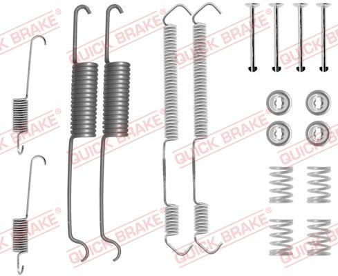 OJD Quick Brake 1050691 - Set accesorii, sabot de frana reperautotrans.ro