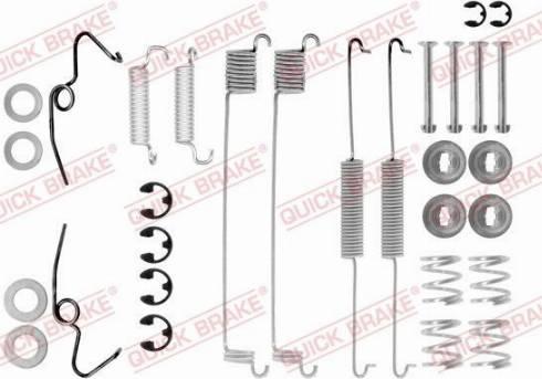 OJD Quick Brake 1050641 - Set accesorii, sabot de frana reperautotrans.ro