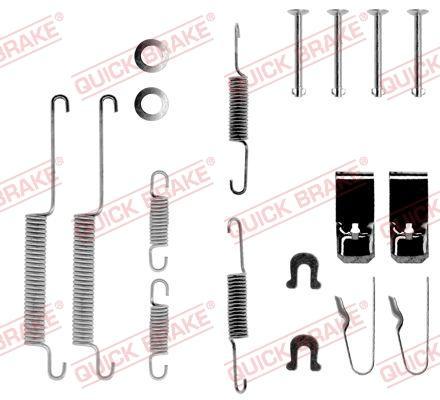 OJD Quick Brake 1050654 - Set accesorii, sabot de frana reperautotrans.ro