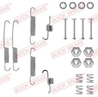 OJD Quick Brake 1050673 - Set accesorii, sabot de frana reperautotrans.ro