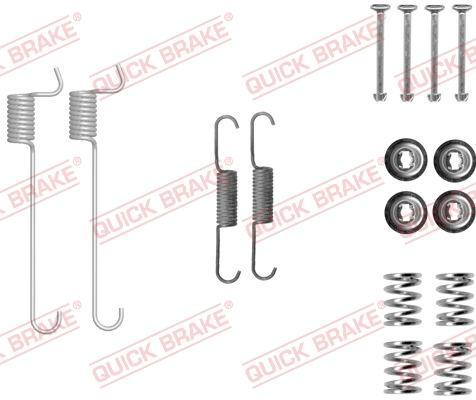 OJD Quick Brake 105-0848 - Set accesorii, saboti frana parcare reperautotrans.ro