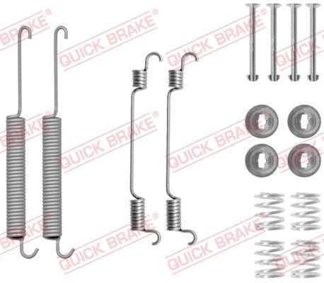 OJD Quick Brake 1050806 - Set accesorii, sabot de frana reperautotrans.ro