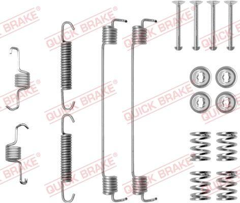OJD Quick Brake 1050819 - Set accesorii, sabot de frana reperautotrans.ro
