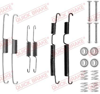OJD Quick Brake 1050813 - Set accesorii, sabot de frana reperautotrans.ro