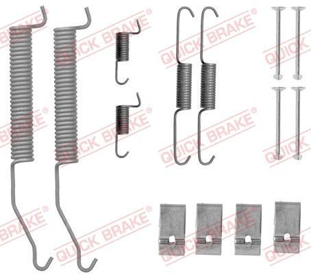 OJD Quick Brake 1050812 - Set accesorii, sabot de frana reperautotrans.ro