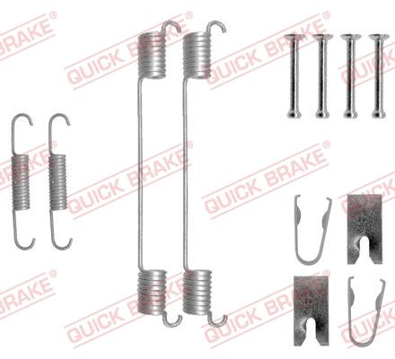 OJD Quick Brake 105-0883 - Set accesorii, sabot de frana reperautotrans.ro