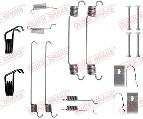 OJD Quick Brake 1050799 - Set accesorii, sabot de frana reperautotrans.ro