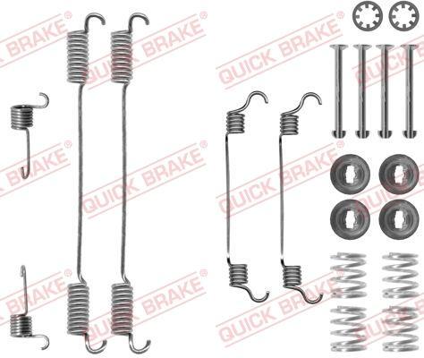 OJD Quick Brake 1050740 - Set accesorii, sabot de frana reperautotrans.ro