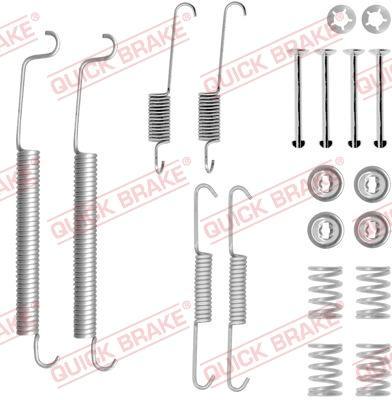 OJD Quick Brake 1050756 - Set accesorii, sabot de frana reperautotrans.ro