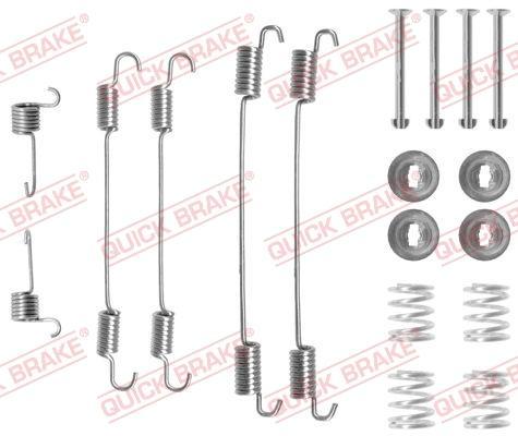 OJD Quick Brake 1050750 - Set accesorii, sabot de frana reperautotrans.ro