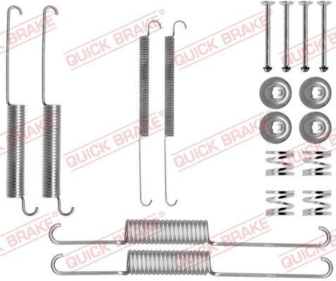 OJD Quick Brake 1050758 - Set accesorii, sabot de frana reperautotrans.ro